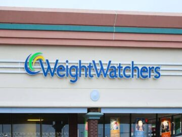 Weight Watchers Devanture d'un magasin Weight Watchers